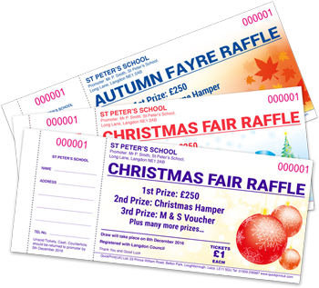 seasonal raffle tickets