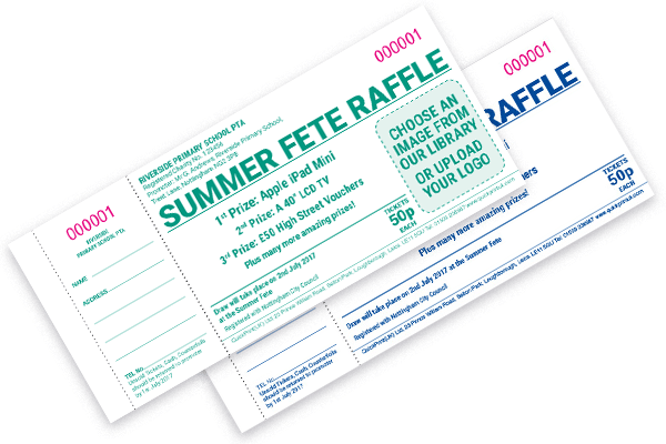 cheap custom raffle tickets